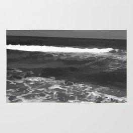Gray Ocean #society6 #decore # photography Rug