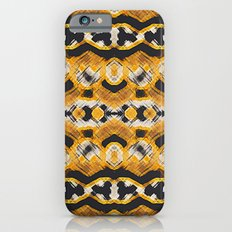 Montana Stripe - Gold iPhone 6s Slim Case