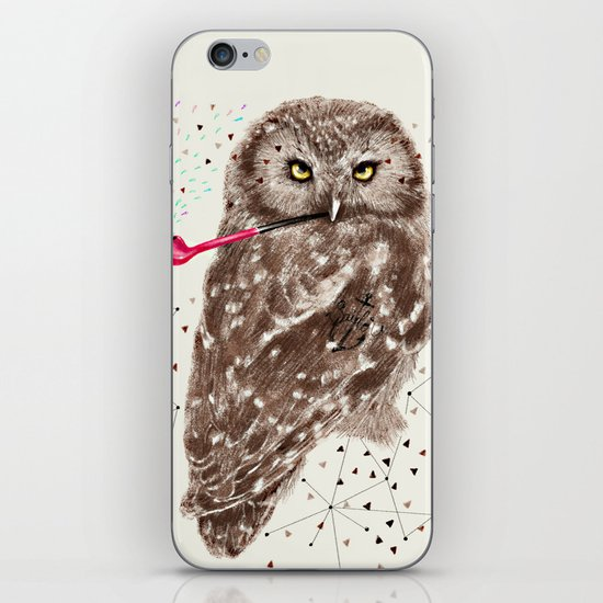 Mr.Owl III iPhone & iPod Skin