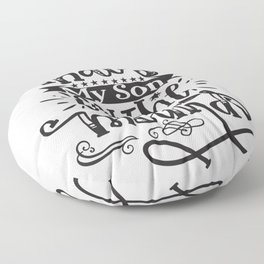 That's My Son On The Mound Baseball Floor Pillow