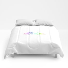 Cat Angels kittys gift Comforters