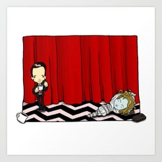 February 24th, Entering the town of Twin Peaks Art Print
