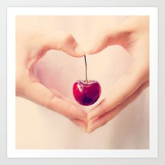 Cherry Love!  Art Print