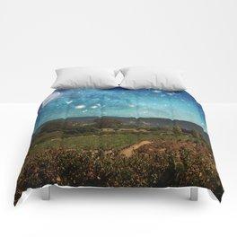Starlit Vineyard II Comforters