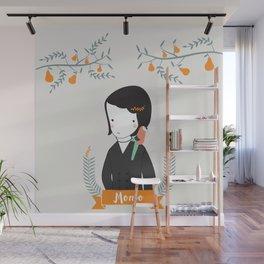 Momo Wall Mural