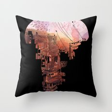 Secret Streets Throw Pillow