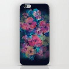 Midnight bloom iPhone & iPod Skin