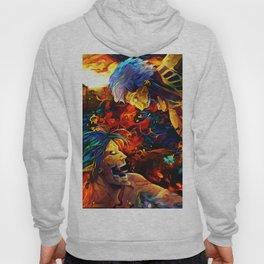 Colorful Armored Titan Hoody