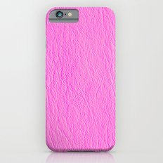 Leather Texture (Pink) iPhone 6s Slim Case