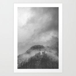 Moody clouds 5 Art Print