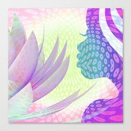 Dawn of the Lotus Canvas Print