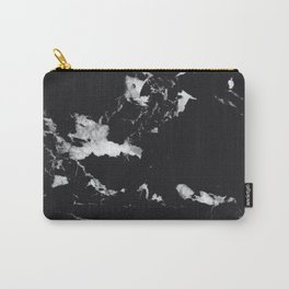 Black Marble #1 #decor #art #society6 Carry-All Pouch