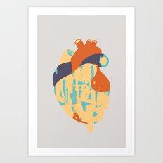Heart:Released Art Print