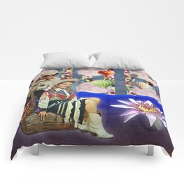 COW BOY AND COW GIRL Comforters