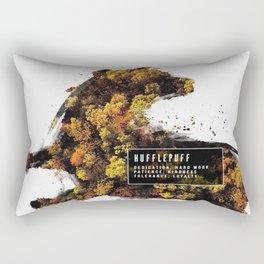 Hufflepuff Nature Rectangular Pillow