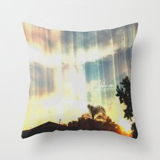 Enter to the Divine Throw Pillow
