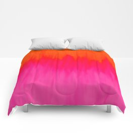 Bursting with Color Comforters