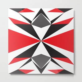 Abstract pattern geometric backgrounds  Metal Print