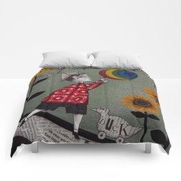 Henry's Rainbow Comforters