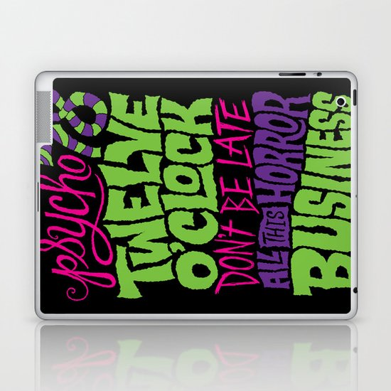 Horror Business Laptop & iPad Skin