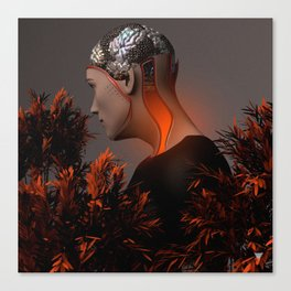 THOUGHTS ∀ Canvas Print