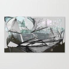 Ray Canvas Print