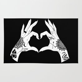 Tattoo love Rug