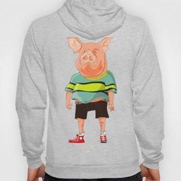 Human like a pig Hoody