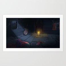 The Midnight Man Art Print