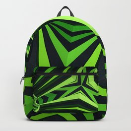 """Clockwork"" kaleidoscope Backpack"