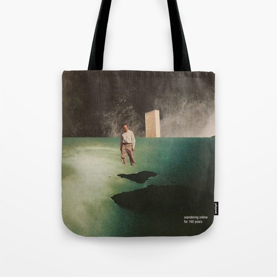 Wandering Online for 160 Years Tote Bag
