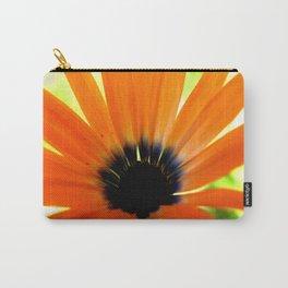Solar orange daisy flower Carry-All Pouch