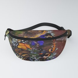 Multiple Butterflies Fanny Pack