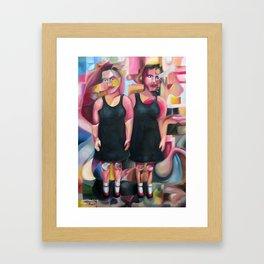 Dresses, Socks And Shoes  2013 Framed Art Print