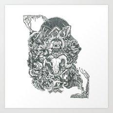 R A M Art Print