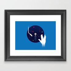 Star Tracks Framed Art Print