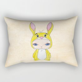 A Boy - Rabbit (coco lapin) Rectangular Pillow