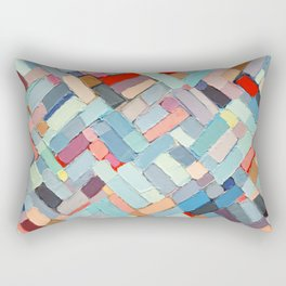 Summer in the City Rectangular Pillow