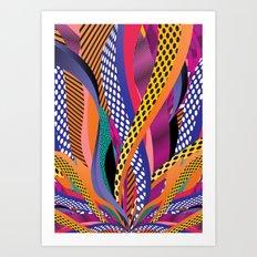 Leave a Trace Art Print