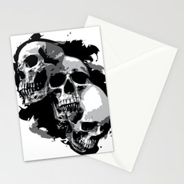 Mutations (grayscale) Stationery Cards