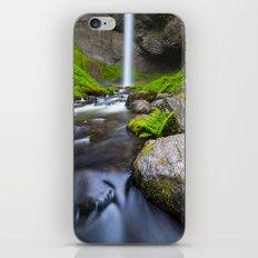 Latourell Falls. iPhone & iPod Skin