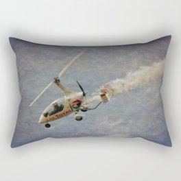 Autogyro Rectangular Pillow