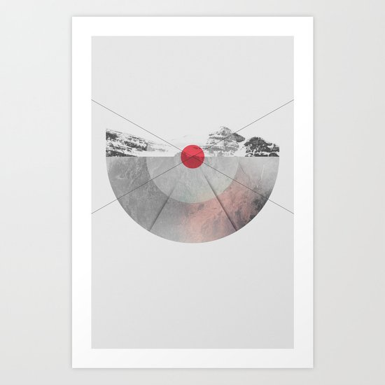 (b)Earthpoint Art Print