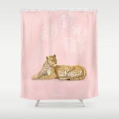 La Léopard Shower Curtain