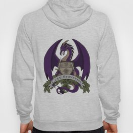 Clan Stonefire Crest - Purple Dragon Hoody