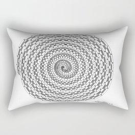 spiral 3 Rectangular Pillow