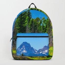 Grand Teton National Park Mountains Hike Wyoming Landscape Nature Backpack