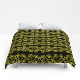 Shells Lace Patterns Comforters
