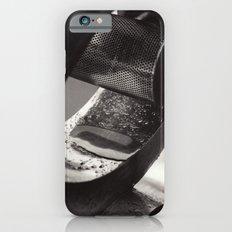 Droplets on Metal iPhone 6s Slim Case