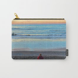 Cromer Beach, U.K at Sunset Carry-All Pouch